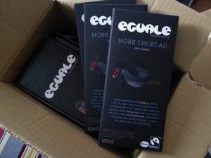 Fair Trade Shop Eguale mörk choklad 100 gram webbutik