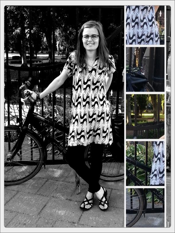 Fair Trade blogg hållbart mode klänning 130821 x