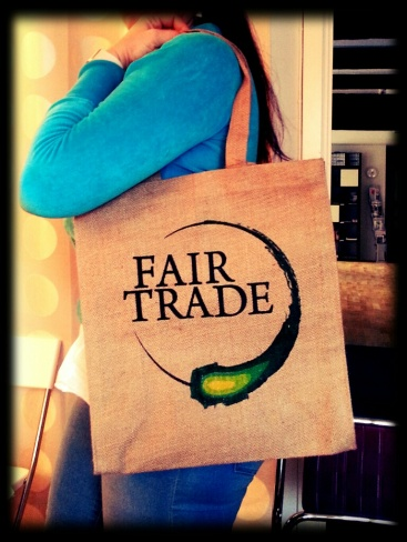Fair Trade Shop i Uppsala elefant jutekassa