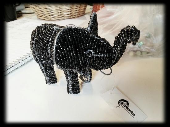 Fair Trade Shop i Uppsala elefant Streetwires