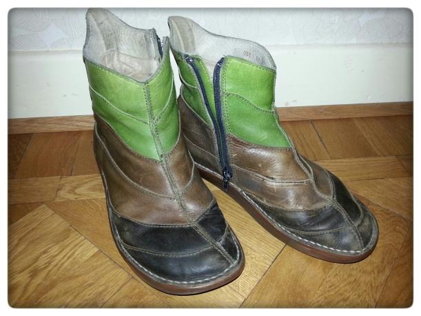 Fair Trade blogg El Naturalista lappade och lagade skor