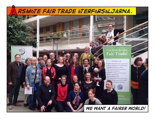 Årsmöte Fair Trade återförsäljarna