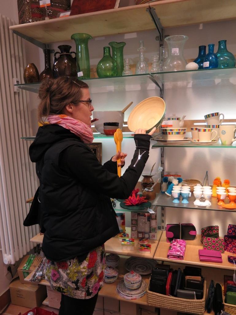 Fair Trade Shop blogg bambu skål Berlin