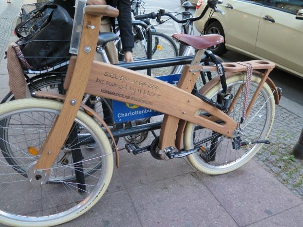 Fair Trade Shop blogg cykel trä Berlin