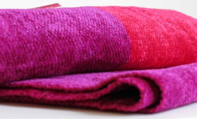 Fair Trade Shop Fair Monkey bambu sjal röd fuchsia färger