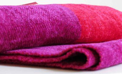 Fair Trade Shop Fair Monkey bambu sjal röd fuchsia färger