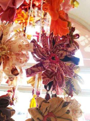 Lampa rosa blomma i närbild Fair Monkey