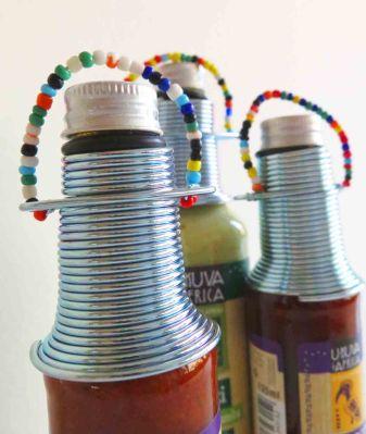 Ukuva iAfrica flaskor med ståltråd