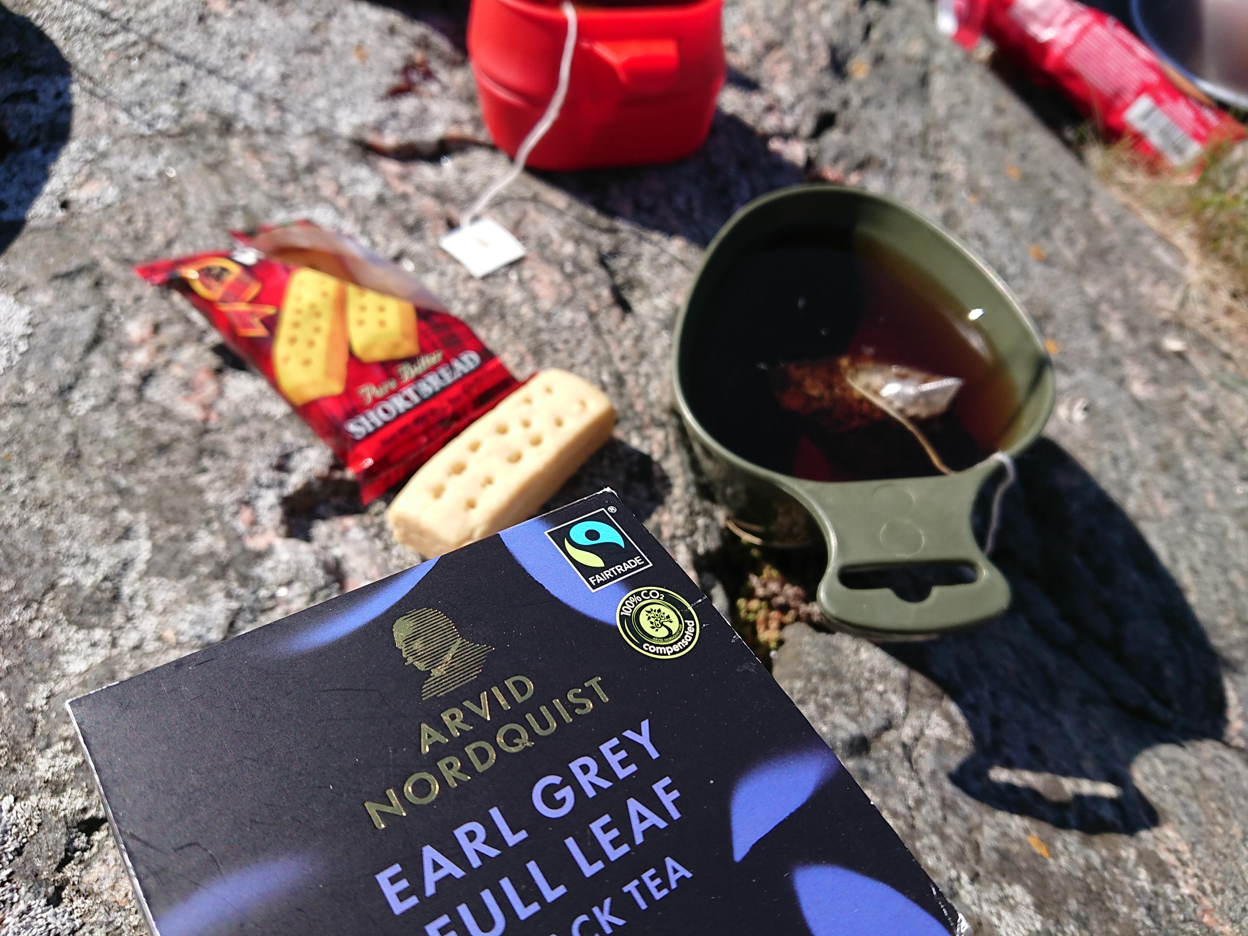 Fairtradete och shortbread