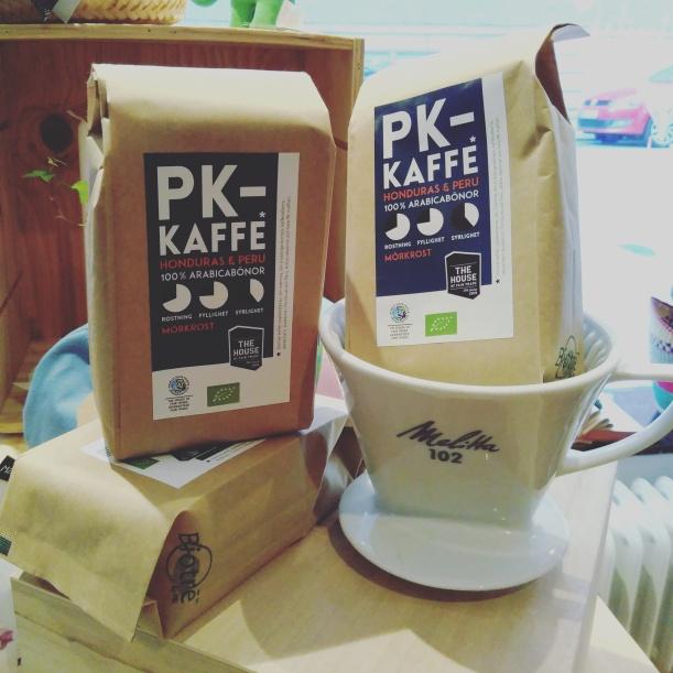 PK-kaffe mörkrost