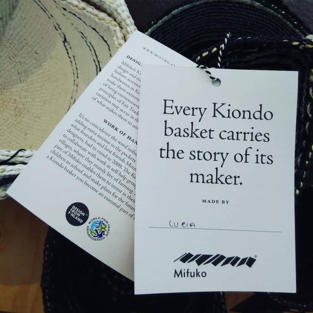 Transparens Mifuko namntag