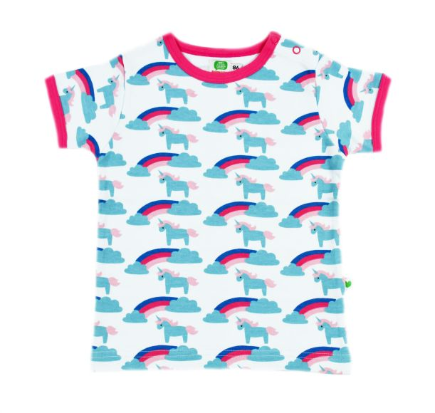Unicorn rainbow shirt Sture o Lisa